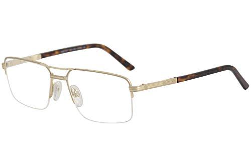 Cazal Gafas Hombre 7068 001 Negro/Dorado Completa Marco Óptico 57mm