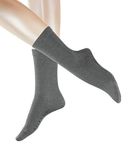 FALKE Damen Family Socken 47675 6 Paar, Farbe:Grau, Größe:35-38, Artikel:-3399 grey mel.