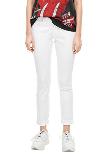 Q/S designed by - s.Oliver Damen Slim Fit: Slim leg-Jeans white 40.32