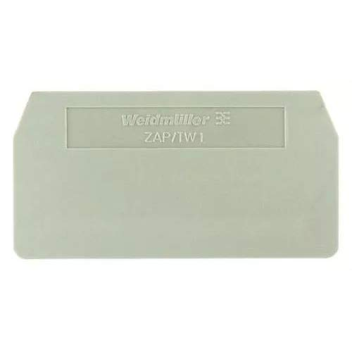Walther 7907370000 ZAP/TW6/3AN Serie Z Endkappe, Trennplatte, 20 Stück
