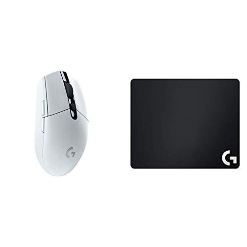 Logitech G305 Lightspeed Wireless Gaming Maus + Logitech G240 Gaming Mousepad