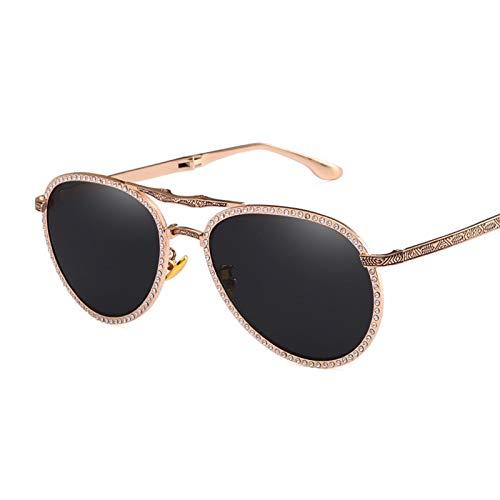 Gafas de sol plegables para mujer, ultraligeras para mujeres, gafas de sol para conducir, montura irrompible, deportes al aire libre, golf, ciclismo, pesca, senderismo, gafas, gafas de sol,Negro