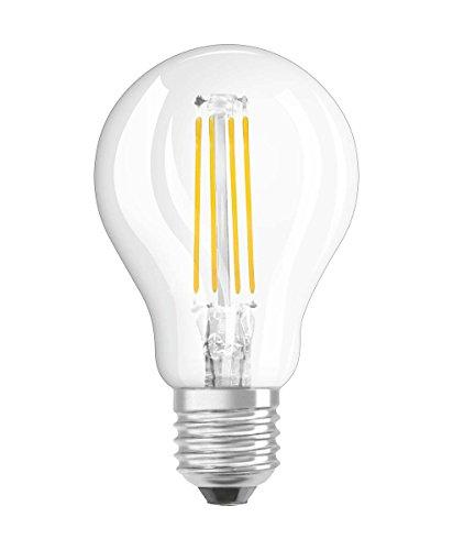 Osram LED Retrofit Classic P Dim Lampe, Sockel: E27, Cool White, 4000 K, 5 W, Ersatz für 40-W-Glühbirne