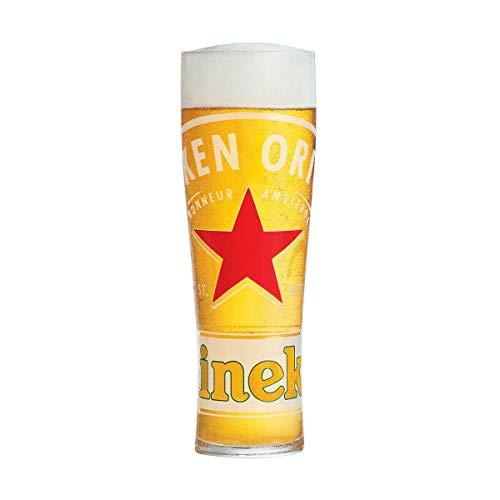 Heineken-Bierglas, geprägt, 1 Stück