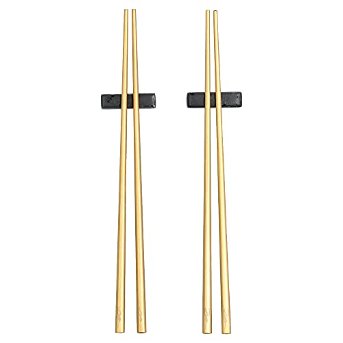 Chop Sticks 23cm 2 Set Brass