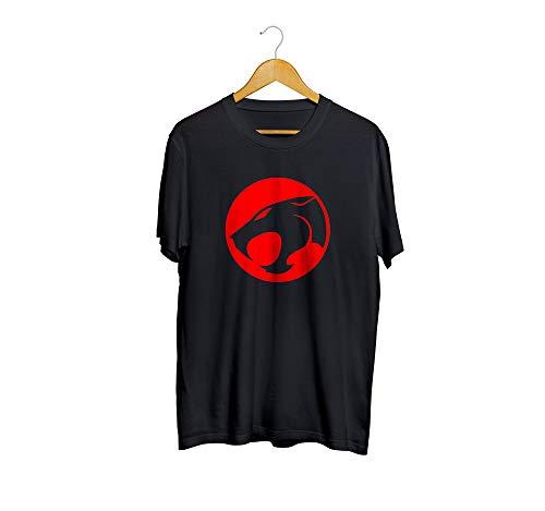 Camiseta Camisa Thundercats Masculino Preto Tamanho:GG