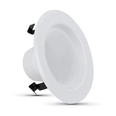 """Feit 4"""" Dimmable Retrofit LED Kit, CA Title 24 Compliant, 3000K"""