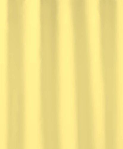 Cortina de ducha amarilla (180 x 200 cm)