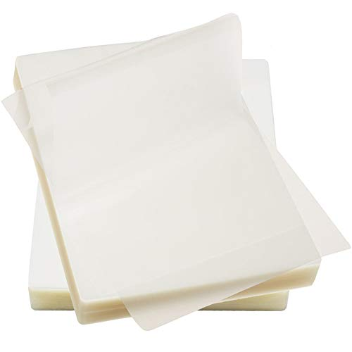 Immuson Thermal Laminating Pouches 8.9 x 11.4, 5 Mil Thickness, Crystal Clear Finish, 100 Pack