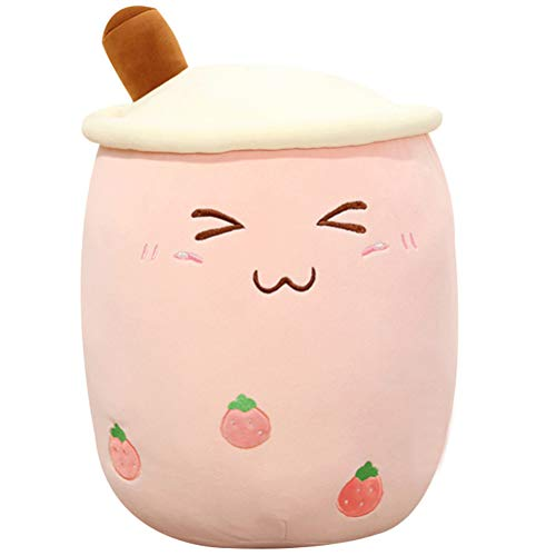 24cm/ 35cm Bubble Tea Plush Toy Stuffed Milk Tea Soft Doll Tea Cup Pillow Cushion Kids Toys Birthday Gift
