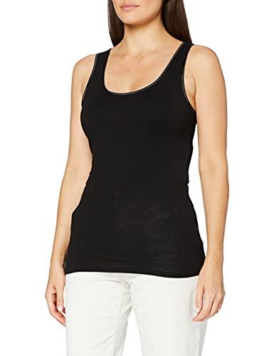 Damart Débardeur Haut Thermique, Noir (Noir 49507-17010-), 38 (Taille Fabricant:S) Femme
