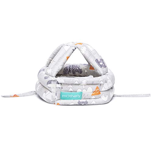 Motherly Padded Safety Baby Helmet for Bump-Free Protection (Grey Forest)