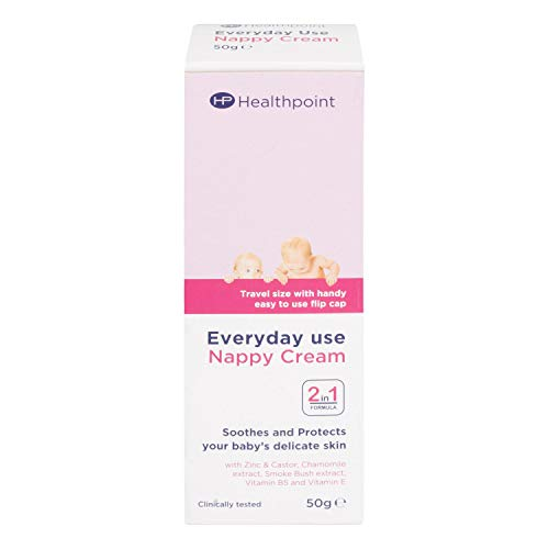 Why Choose Healthpoint Everyday Use Nappy Cream 2-in-1 Formula Soothes and Protects Baby's Skin 50g,...