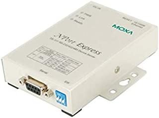1 Port Device Server, 10/100M Ethernet, RS-232/422/485, DB9 Female, 15KV ESD 110V or 230V