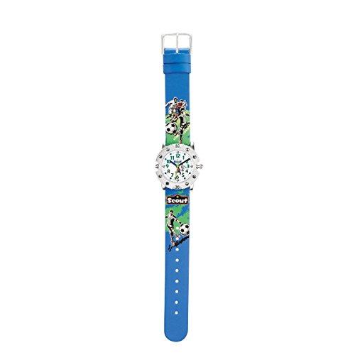 Scout Jungen-Armbanduhr Analog Quarz Nylon 280316015