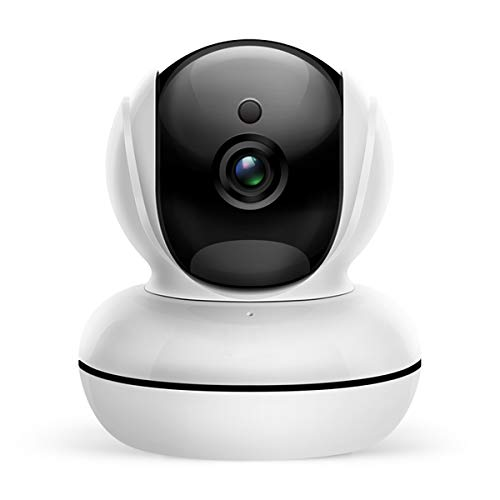 Home Security Professional IP Camera 1080P - Wireless WiFi Internet Smart Indoor Surveillance Camera with Night Vision, Motion Sensor, Pan/Tilt, Two Way Audio for Baby/Kids/Pet/Nanny Best Monitor
