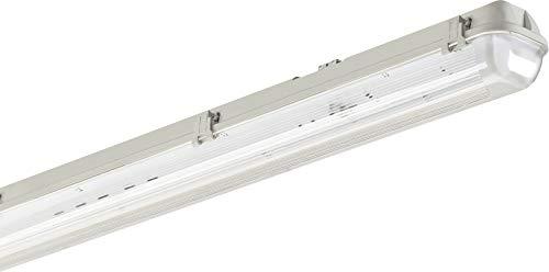 Reglette LED – Regleta LED Cfábrica – Neon LED – Lámpara de escritorio – Regleta LED IP65 doble 1200 mm + tubo LED 4000 lm