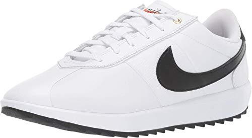 Nike Cortez G, Zapatillas de Golf para Mujer, Blanco (White/Black/Metallic Gold 101), 37.5 EU