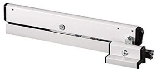 Openingsschaar GEZE OL90 N m. vleugelbok en schaarlagers, aluminium wit RAL 9016; 1 stuk