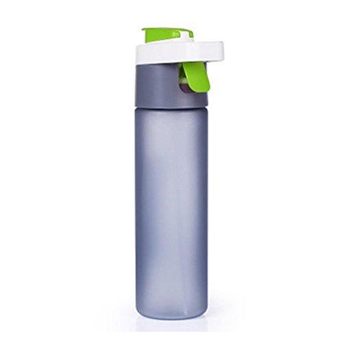 Bluelover 600Ml Extérieur Bouteille d'eau en Plastique Creative Traveling Sport en Cours D'Exécution Drinking Étanche Bouilloire - Vert
