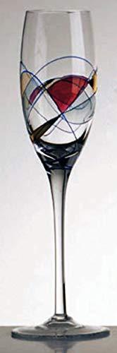 CRISTAL DE PARIS COF 6 Flutes Galleria
