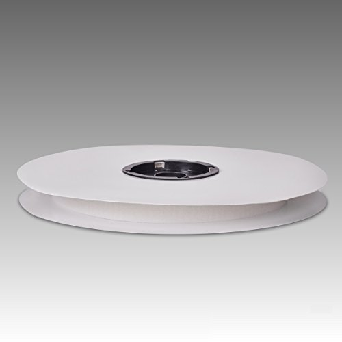25 m Veloursband selbstklebend weiß 20 mm breit 155P17V