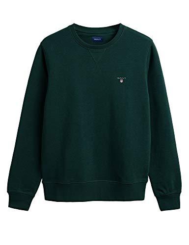 GANT Herren Ursprüngliches Sweatshirt, Grün, XL
