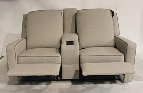 La-Z-Boy 67' RV Camper Double Recliner Couch Theater Seating England Furniture