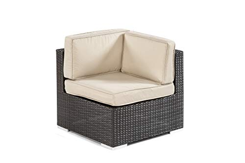 Square Corner - Modular Rattan Garden Furniture - Select Your Components To Match Your Exact Specification