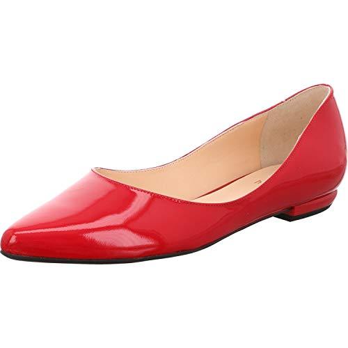 Högl Damen BOULEVARD 10 Geschlossene Ballerinas, Rot (Red 4000), 37 EU