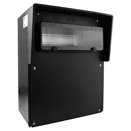 Leergehäuse Vollgummi Verteiler IP67 Stromverteiler 13-Module Baustromverteiler 2907