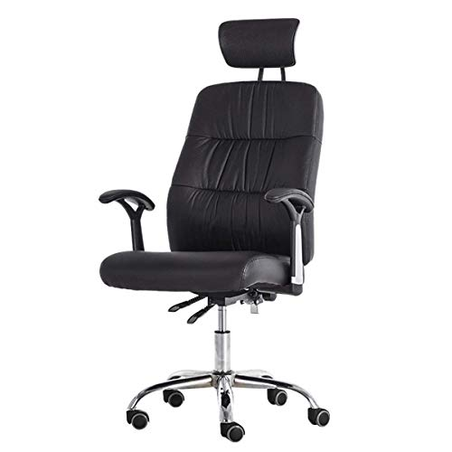 Office Chair, Swivel Ergonomic Chair, Racing Chair with Flip-Up Armrests, Nylon Five-Star Base, Max. Load Capacity-150 kg
