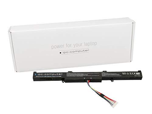 IPC-Computer Akku 32Wh kompatibel für Asus X751LDV Serie