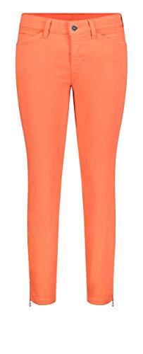 MAC JEANS Damen DREAM CHIC Jeans, Orange (Papaya Orange Ppt 856r), 32W x 27L (Größe: 32/27)