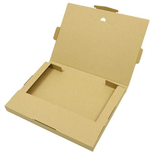 クリックポスト 箱 ダンボール箱 50枚セット 専用最大サイズ(MAXギリギリです) 外寸:340×250×30mm ※ゆうパ...