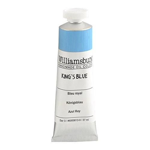 Williamsburg Oil 37ml Tube, Kings Blue (60008139)