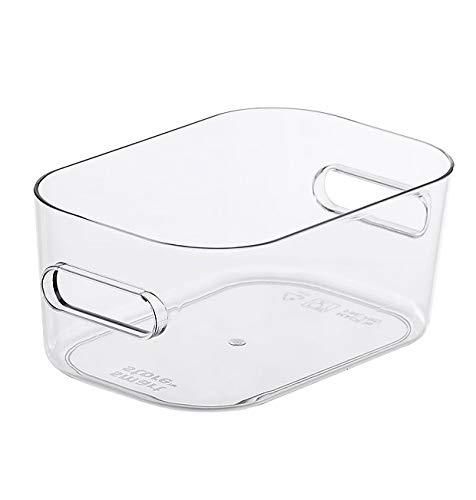 SmartStore Compact Box, mittelgroß, transparent, Edelstahl, Einheitsgröße