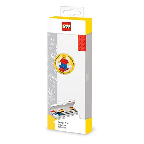 SET ASTUCCIO RIGIDO ROSSO + MINIFIGURE LEGO ART.52610