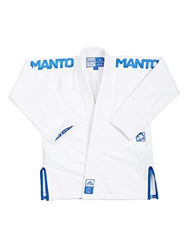 MANTO X3 BJJ GI, Weiß, A3