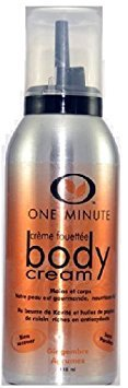 ONE MINUTE - Crème Fouettée Hydratante Corps - GINGEMBRE AGRUMES