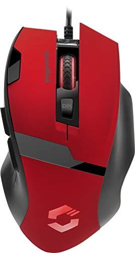 Speedlink VADES Gaming Mouse - Gaming-Maus mit 7 Tasten und LED-Beleuchtung - konfigurierbar per Software, schwarz