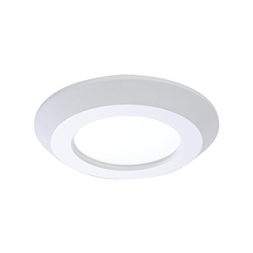 HALO SLD405840WHJB White Integrated LED Recessed Trim Downlight 80 CRI 4000K CCT with Junction Box, 4""