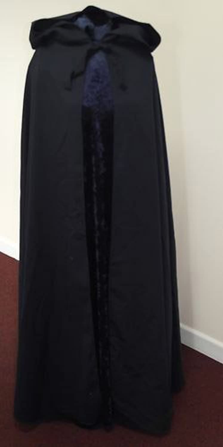 NAVY WOOL MIX Adult Cloak  Legoslas Frodo Lord Of The Rings LOTR Pirate