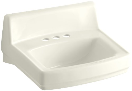 KOHLER K-2032-96 Greenwich Wall-Mount Bathroom Sink, Biscuit