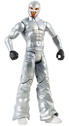 WWE Rey Mysterio Action Figure Series 121 Action Figure Posable 6 in Collectible for Ages 6 Years Old and Up