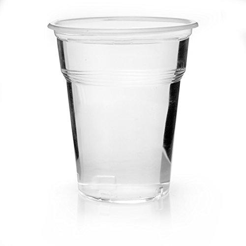Abena - 400 bicchieri da birra, 0,3 l, in plastica, 300 ml, colore: Trasparente