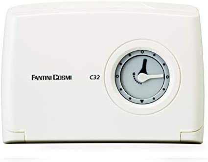Bianco Fantini Cosmi C32 Cronotermostato Giornaliero Con Orologio Meccanico A Cavalieri Bianco /& Cosmi C16 Termostato Elettromeccanico A Dilatazione Di Gas A Batterie