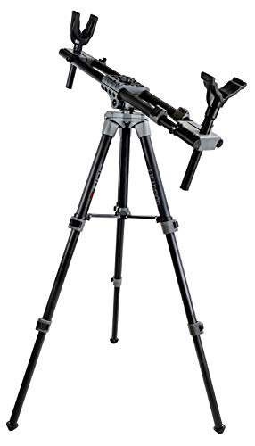 """Bog FieldPod Adjustable Ambidextrous Rifle Shooting Rest for Outdoor Range and Hunting, Multi, Height: 20.0"""" - 42.0"""""""