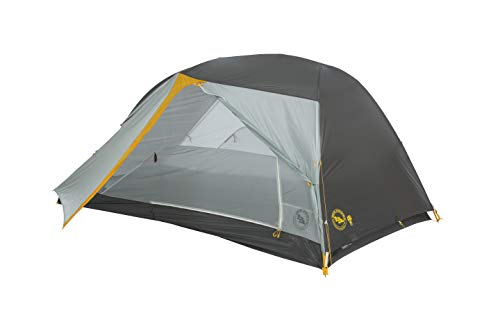 Big Agnes Tiger Wall UL mtnGLO Ultralight Backpacking Tent, 2 Person
