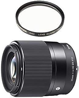 [セット品]レンズフィルター2点セット シグマ 30mm F1.4 DC DN Contemporary キャノン EF-Mマウント 標準レンズ フィルターセット